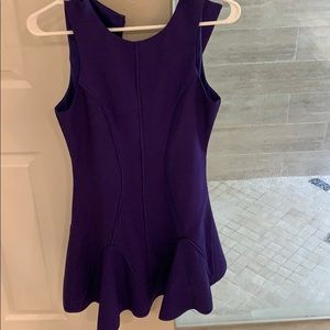 Purple Keepsake Dair and flare dress